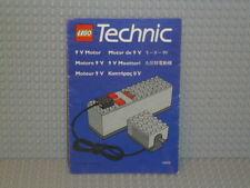 LEGO® Technic Bauanleitung 120479 Motor Set 9 V instruction B5135