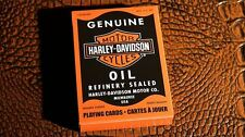 Harley Davidson Oil Playing Cards By USPCC   Collectable Playing Cards