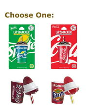 Lip Smacker Coca Cola Cup Sprite Cherry Coke Fanta Lip Balm pick your flavor