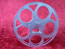 1 Stück 120 Meter NORMAL 8 Filmspule aus Aluminium. Gebraucht, guter Zustand.