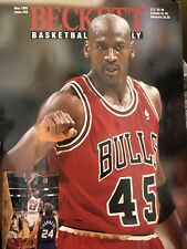 Beckett Basketball Magazine Monthly Price Guide Michael Jordan May 1995
