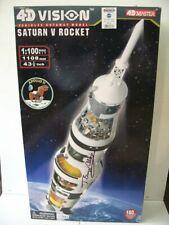 4D Vision Saturn V Model Autographed !