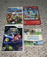 Mario Party 8/New Super Mario Bros/Wii Sports/Mario Galaxy Nintendo Wii Lot
