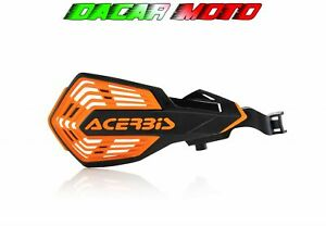 Pair Hand Guards Black/Orange KTM SX 250 2014 2015 2016 2017 ACERBIS