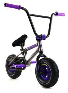 """Mayhem Riot Mini 10"""" BMX Bicycle Freestyle Tire Bike Raw Power NEW"""