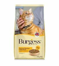 Burgess Adult cat Chicken and Duck 10kg - 19303