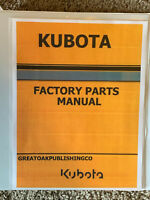 KUBOTA L4630 master parts and operator manuals