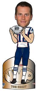 NFL Tom Brady New England Patriots Super Bowl MVP BobbleHead Forever