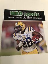 Darrel Williams LSU Tigers hand signed autographed 8x10 football photo B