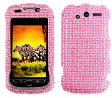 Pink Rhinestone Protector Case for HTC myTouch 4G (T-Mobile)