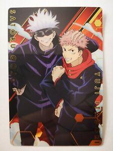 Jujutsu Kaisen Bandai Made in Japan Jump Fair Shueisha weekly #1-25 Itadori Gojo
