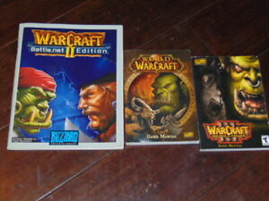 World of WarCraft GAME MANUAL ONLY Warcraft II Battle.net Edition Manual PC Plus