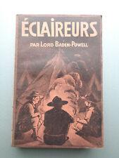 SCOUTISME Lord Baden-Powell ECLAIREURS Delachaux Niestlé Guide Scout Livre