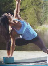"Lotus Yoga Block Foam 3""x6""x9"" Blue Brand New Sealed Exercise Athletic Prop"