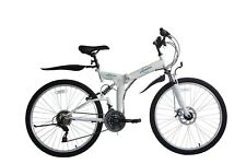 "Ecosmo 26"" Wheels Folding Mountain MTB Bicycle Bike 21SP, 18.5""-26SF02W"