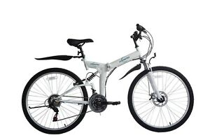 "Ecosmo 26"" Wheels Folding Mountain MTB Bicycle Bike 21SP, 18.5""-26SF02W"