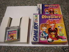 Diva Starz: Mall Mania (Game Boy Color) COMPLETE