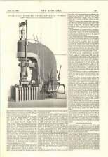 1895 Hydraulic Forging Press Swindon Works