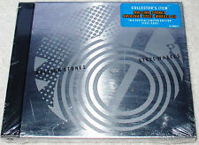 ROLLING STONES ~STEEL WHEELS CD in a STEEL CASE~ LIMITED / SPECIAL ED. NEW & S/S