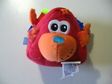 """3"""" plush & rattles doll, made by Infantino, good condition"""