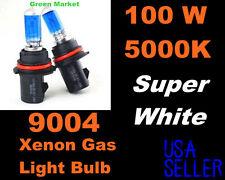100w Super White Pontiac 99-04 Montana High/Low Beam 9004/HB1 Xenon Bulbs