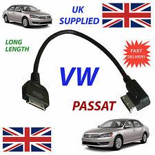 VW PASSAT MDI 0051446L LONG LENGTH For Apple 3GS 4 4S iPhone iPod audio cable