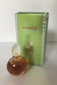 Amarige Mariage Givenchy EDP Mini Collectible bottle discontinued 0.13 oz France