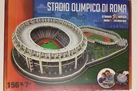 PUZZLE 3D STADIO Olimpico Di ROMA -Lazio Pezzi 156 Pezzi Italia New