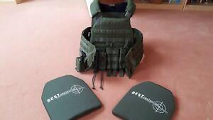 Plattenträger Warrior Assault Systems Gr. L mit 2 Keramikplatten SK 4, KSK, BW