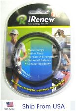 iRenew Bracelet Improve Energy Flexiblity Balance AS SEEN ON TV FREE SHIP NEW