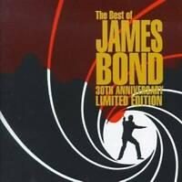 The Best of James Bond 30th Anniversary - Audio CD - VERY GOOD