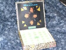 "THE BEATLES RARE SILK BOX SET ""GOLD RECORDS BEST OF RARITIES"" AULICA DE LUXE LTD"