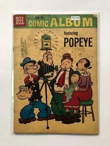 Dell Comic Album featuring Popeye 7 Comic Book MO2-134