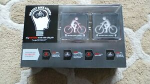 BRAINY BIKE LIGHTS SET FRONT AND REAR NEW CHOOSE FROM 1 2 3 OR 4 SETS FREE P&P