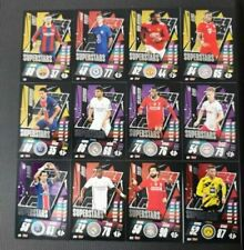 TOPPS Match Attax 2020/2021 SUPERSTARS COMPLETE SET 20/21