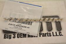 "2013-2014 Ford Fusion ""Titanium"" Nameplate Emblem Rear Trunk Lid new OEM"