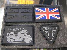 Triumph Bonne Patch Aufnäher Set MPAS18332 Union Jack Logo  NEU! OVP!