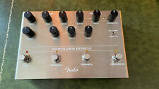 More details for fender downtown express bass guitar multi effects pedal