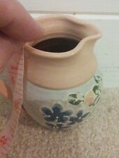 Leigh Coombes Pottery Mini Jug SIgned And Dated Somerset 2010 Ex Condition