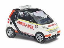 Busch 46162 Smart Fortwo 07 St. John Ambulance 1:87 Neu