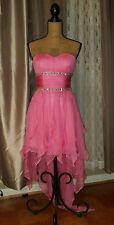 Pink Paparatzia Coctail Dress, Pink, Size Small