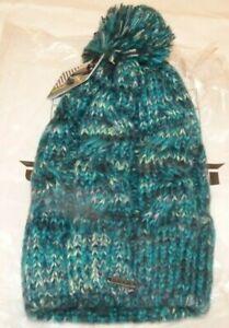 NEW DAKINE Peyton Winter Knit Hat Cap, Multi Color Teal Mix  Women Ladies NWT