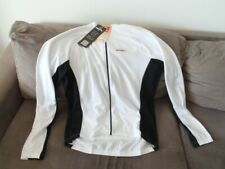 Cycling Long Sleeve Summer Jersey UV Protection White By Bicycle Line