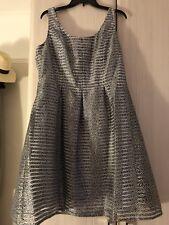 Black & White Sleeveless Dress In Size 20