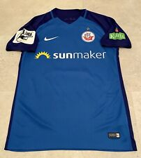 matchworn/prepared FC Hansa Rostock Trikot Spielertrikot Playershirt