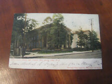 """1906 """"Court House and County Jail, Jersey City, N.J."""" Postcard"""