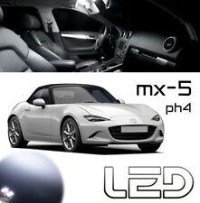Mazda MX-5 MX5 ND 2 Ampoules LED Blanc éclairage intérieur Plafonnier Coffre