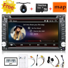 "6.2"" 2 Din Android 4.4 Car DVD GPS Player WiFi 3G Radio Stereo Sat Nav Bluetooth"