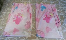 "Disney Princess Pair Of Curtains + Ties Approx. 64"" X 54"" - Cinderella / Belle"