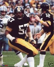 (PL) SAM DAVIS-TERRY BRADSHAW PITTSBURGH STEELERS 8X10 SPORT PHOTO